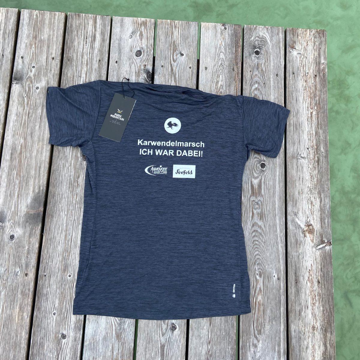 """""""Ich war dabei"""" Karwendelmarsch T-Shirt (Men)"""