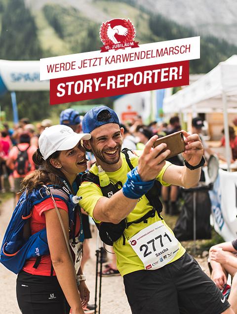 Gesucht: Die Karwendelmarsch Instastory-Reporter