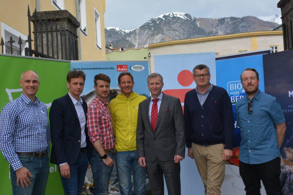 Pressekonferenz Karwendelmarsch