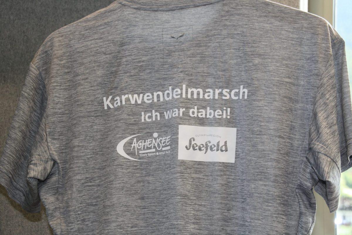 """Salewa Shirt – """"Ich war dabei"""" Karwendelmarsch (Men)"""