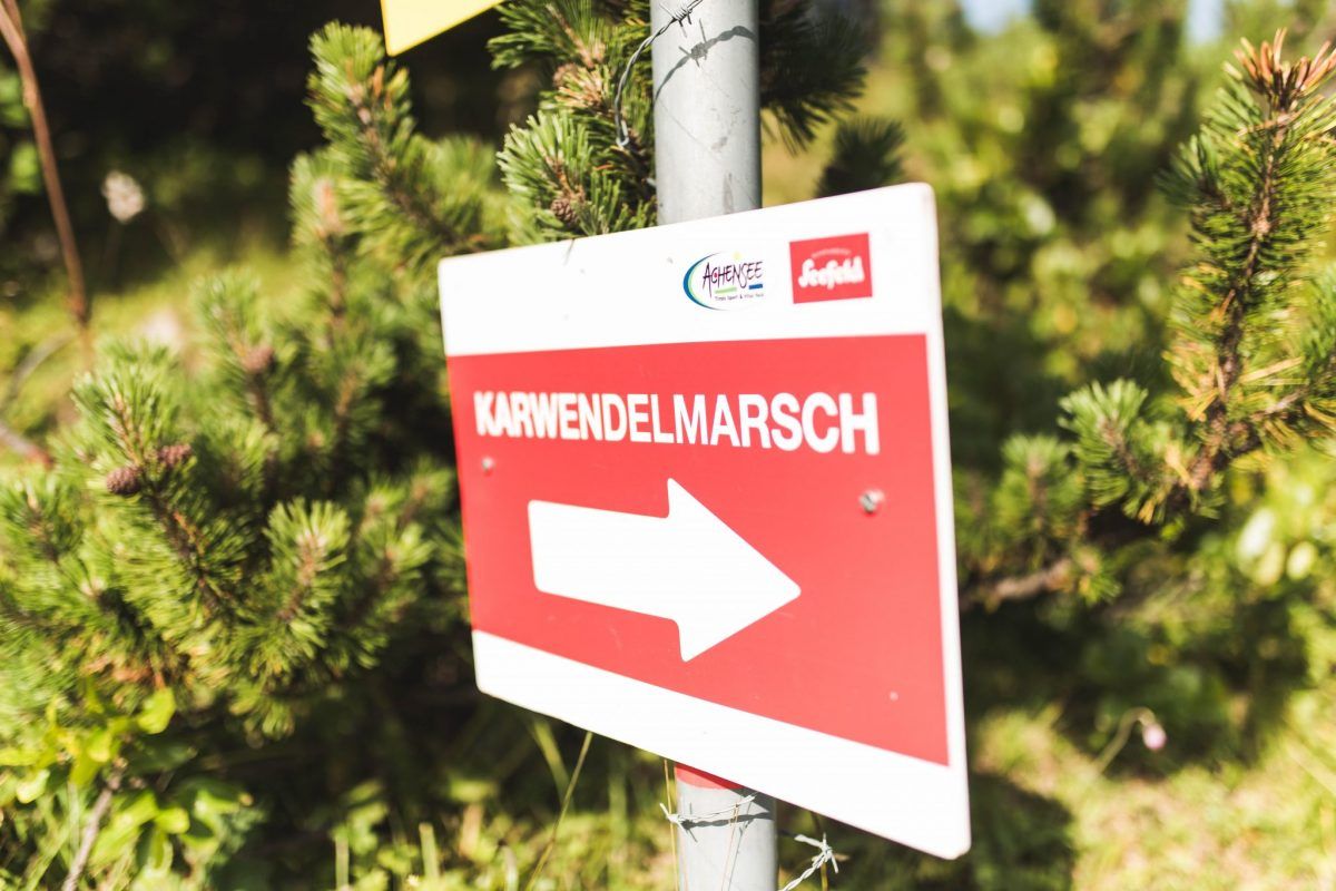 START Anmeldung – Karwendelmarsch 2020