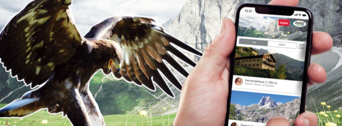 SummitLynx – digitale Karwendelmarsch-Wandernadeln