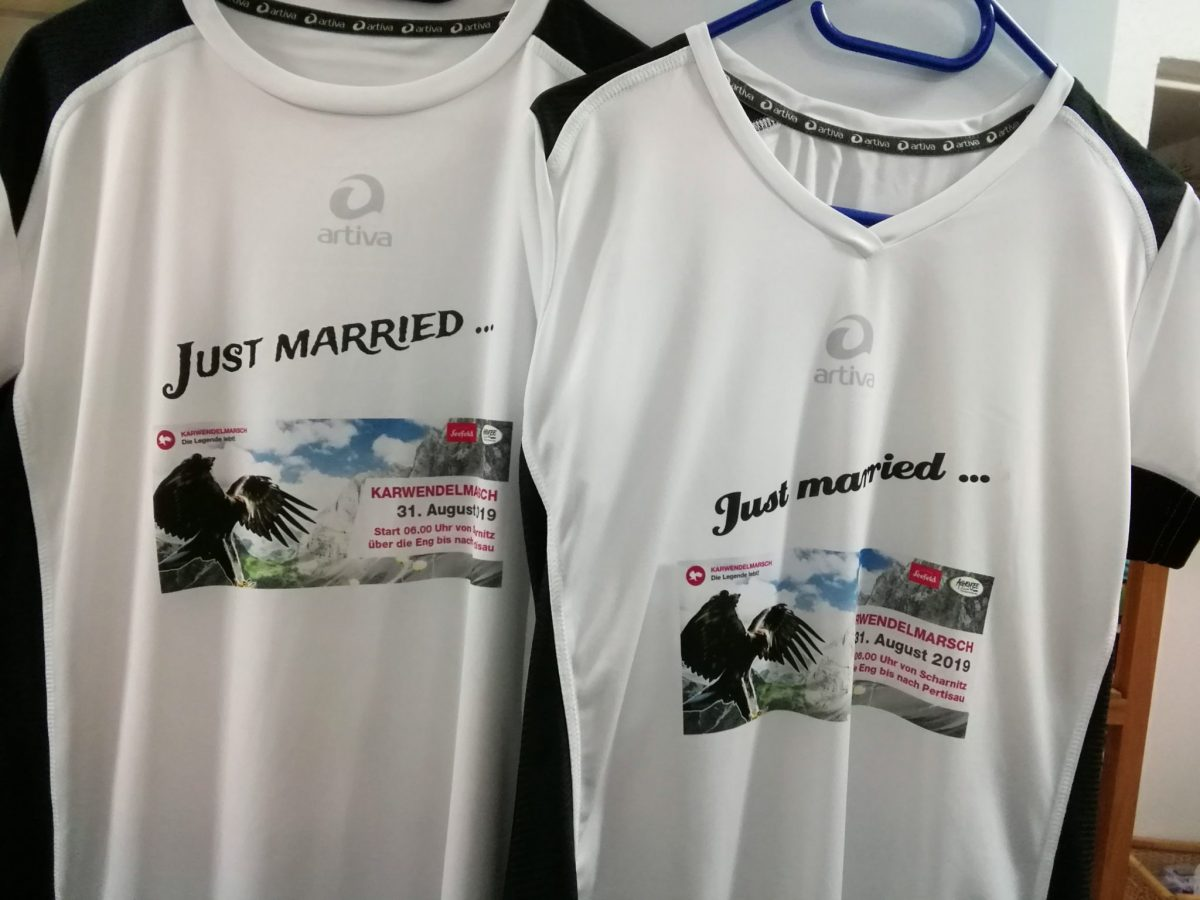 Just married Karwendel